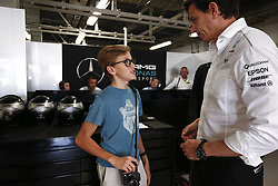 October 8, 2017 - Suzuka, Japan - Motorsports: FIA Formula One World Championship 2017, Grand Prix of Japan, .Toto Wolff (AUT, Mercedes AMG Petronas Formula One Team) (Credit Image: © Hoch Zwei via ZUMA Wire)