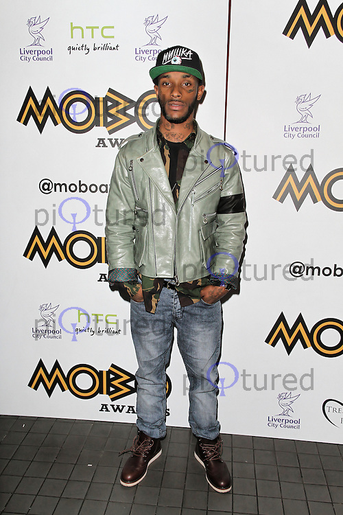 LONDON - SEPTEMBER 17: Angel attended the Nominations Launch of the MOBO Awards at Floridita London, UK. September 17, 2012. (Photo by Richard Goldschmidt)