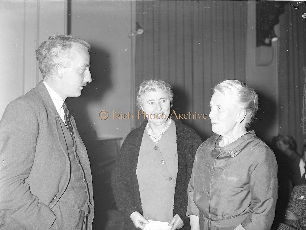 "Gael Linn.Seán Ó Riada's ""Spailpin a Ruin"" premieres at Damer Theatre, Stephen's Green as part of the International Theatre Festival..15.09.1960"