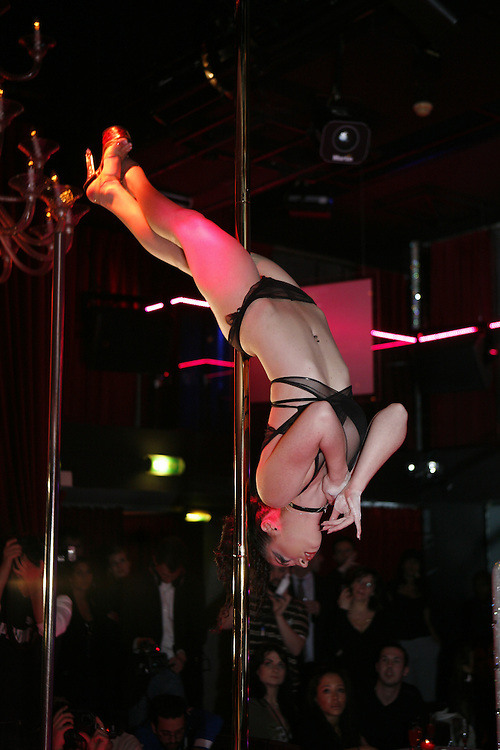 Wednesday March 26th 2008.  .Pink Paradise. Paris, France.Election of Miss Pole Dance France 2008.