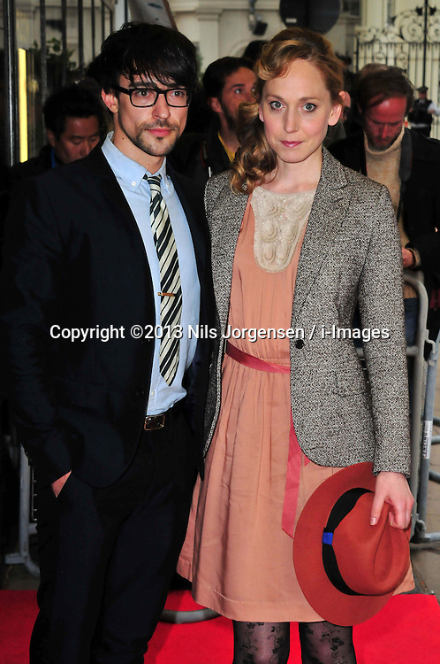 Blake Ritson and Hattie Morahan during 'Summer In February' Gala Screening<br /> London, United Kingdom<br /> Monday, 10th June 2013<br /> Picture by Nils Jorgensen / i-Images