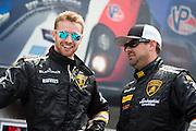 May 2-4, 2014: Laguna Seca Raceway. #80 Aleks Altberg, Mitchum Motorsports, Lamborghini of Palm Beach, #29 Kevin Conway, Change Racing, Lamborghini of the Carolinas