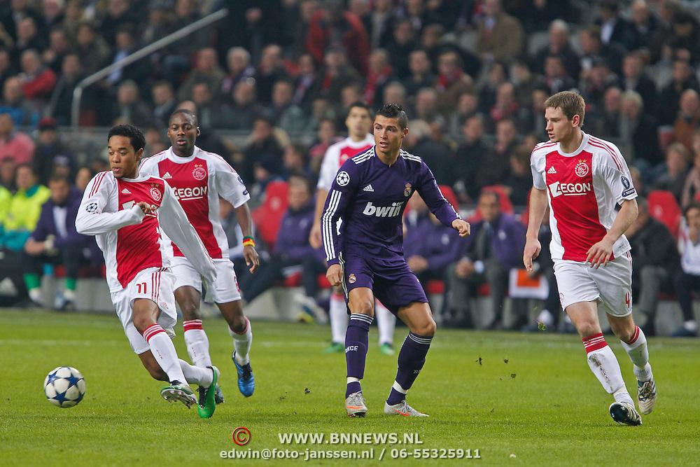 NLD/Amsterdam/20101123 - Ajax - Real Madrid, Cristiano Ronaldo (7)