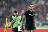 Rugby Union - 2017 British & Irish Lions Tour of New Zealand - Second Test: New Zealand vs. British & Irish Lions<br /> <br /> Sonny Bill Williams of The All Blacks reacts after being sent off at Westpac Stadium, Wellington.<br /> <br /> COLORSPORT/LYNNE CAMERON