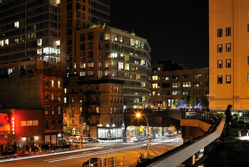 Manhattan's night