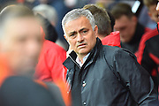 Manchester United manager Jose Mourinho before the Premier League match between Bournemouth and Manchester United at the Vitality Stadium, Bournemouth, England on 3 November 2018.
