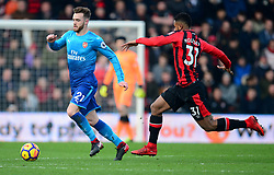Calum Chambers of Arsenal - Mandatory by-line: Alex James/JMP - 14/01/2018 - FOOTBALL - Vitality Stadium - Bournemouth, England - Bournemouth v Arsenal - Premier League