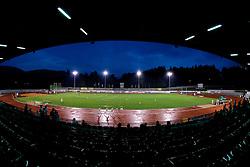 Stadium at Slovenian National Championships in athletics 2010, on July 17, 2010 in Velenje, Slovenia. (Photo by Vid Ponikvar / Sportida)