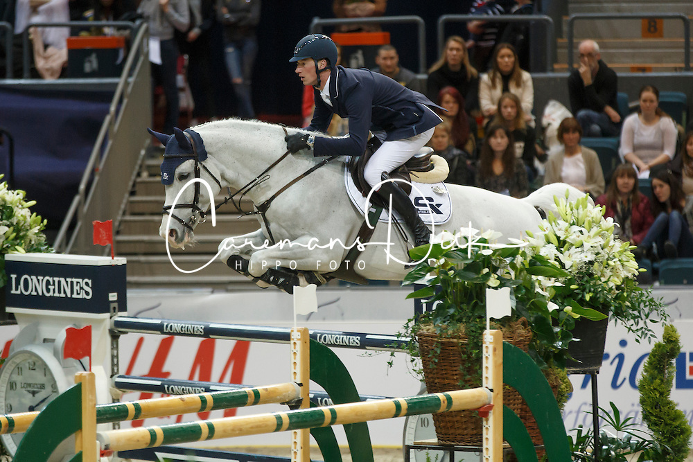 Deusser Daniel, (GER), Cornet D Amour<br /> Longines FEI World Cup Final 2 - Goteborg 2016<br /> © Hippo Foto - Dirk Caremans<br /> 26/03/16