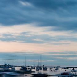 Fishing boats in Rye Harbor, Rye New Hampshire.