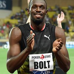 Usain Bolt of jamaica men's 100 m during the IAAF Diamond League Meeting Herculis on July 21, 2017 in Monaco, Monaco. (Photo by Pascal Della Zuana/Icon Sport)
