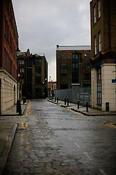 UK ENGLAND LONDON 4NOV12 - Street scene with cobblestones near Brick Lane and Shoreditch in London's trendy east end.....jre/Photo by Jiri Rezac....© Jiri Rezac 2012