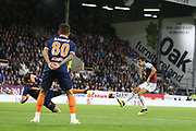 4 Jack Cork for Burnley FC shoots and scores during the Europa League third qualifying round leg 2 of 2 match between Burnley and Istanbul basaksehir at Turf Moor, Burnley, England on 16 August 2018.