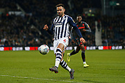 Hal Robson-Kanu in action during the EFL Sky Bet Championship match between West Bromwich Albion and Stoke City at The Hawthorns, West Bromwich, England on 20 January 2020.