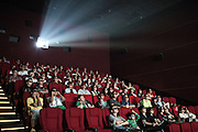 China is the fastest growing market for the box office in the world, Wanda Plaza is the most prestigious Cinema teather in Beijing, septemebr 2014