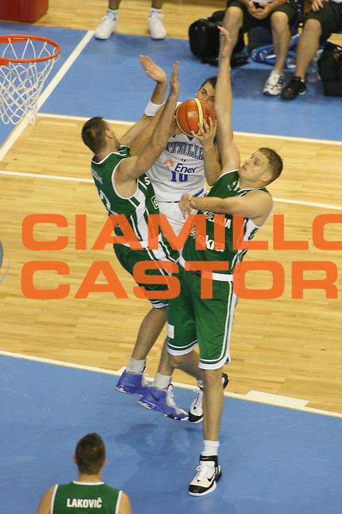 DESCRIZIONE : Alicante Spagna Spain Eurobasket Men 2007 Italia Slovenia Italy Slovenia <br /> GIOCATORE : Radoslav Nesterovic <br /> SQUADRA : Slovenia <br /> EVENTO : Eurobasket Men 2007 Campionati Europei Uomini 2007 <br /> GARA : Italia Slovenia Italy Slovenia <br /> DATA : 03/09/2007 <br /> CATEGORIA : Difesa <br /> SPORT : Pallacanestro <br /> AUTORE : Ciamillo&amp;Castoria/G.Ciamillo <br /> Galleria : Eurobasket Men 2007 <br /> Fotonotizia : Alicante Spagna Spain Eurobasket Men 2007 Italia Slovenia Italy Slovenia <br /> Predefinita :