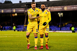 James Clarke of Bristol Rovers and Alex Jakubiak of Bristol Rovers - Mandatory by-line: Ryan Hiscott/JMP - 02/02/2019 - FOOTBALL - Roots Hall - Southend-on-Sea, England - Southend United v Bristol Rovers - Sky Bet League One