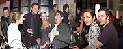 Carolina Barbiari, Lachlan Murdoch, Sarah Murdoch, Stuart McEwan, Gail Elliott and Joe Coffey. on right.Page Six fashion week party hosted by Lachlan & Sarah Murdoch. Guastavino's. 409 E 59 St. NY. 9/2/00<br /> © Copyright Photograph by Dafydd Jones 66 Stockwell Park Rd. London SW9 0DA Tel 0171 733 0108 www.dafjones.com