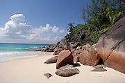 January 30, 2006 - The coast on the Seychelles Islands. The Seychelles Islands archipelago, situated in the western Indian Ocean, consists of 115 islands with a total surface of 453 square kilometers spread over a large ocean area of over one million square kilometers. The central islands are granitic. Others are coral islands and some atolls are present as well. ©Jean-Michel Clajot