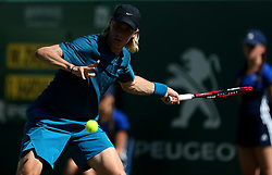 Canada's Denis Shapovalov during day five of the Nature Valley International at Devonshire Park, Eastbourne.
