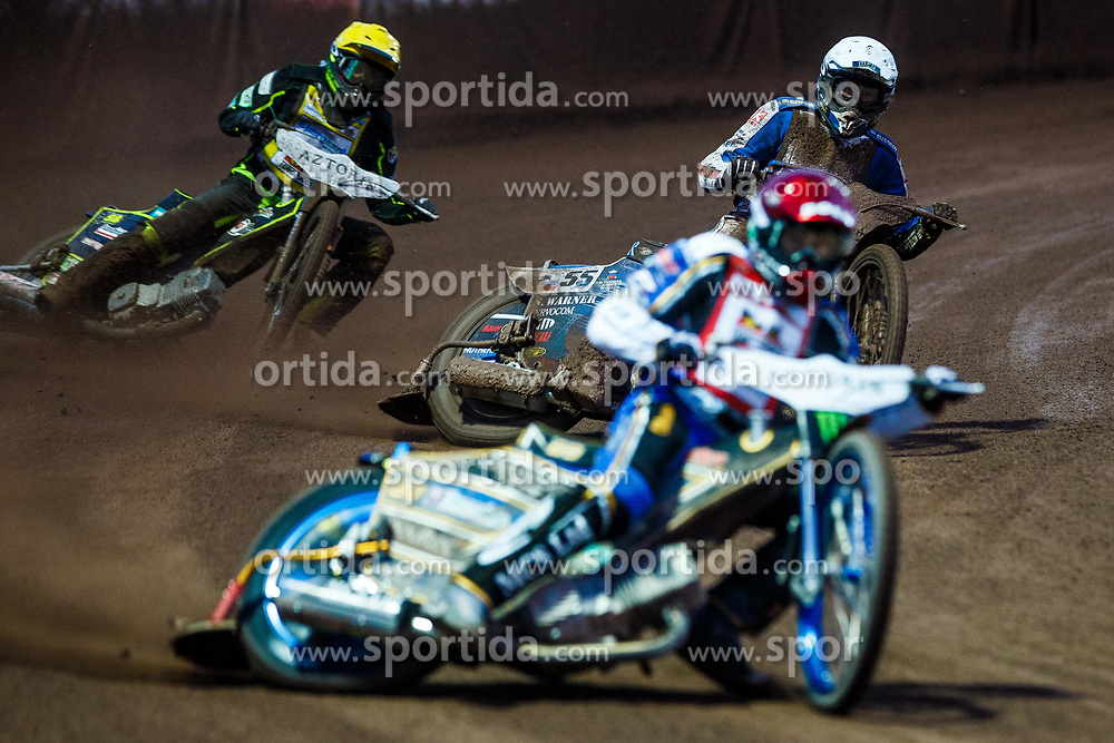 Matej Zagar #55 of Slovenia during FIM Speedway Grand Prix World Cup, Krsko, on 29th of April, 2017, in Sports park Krsko, Slovenia. Photo by Grega Valancic / Sportida