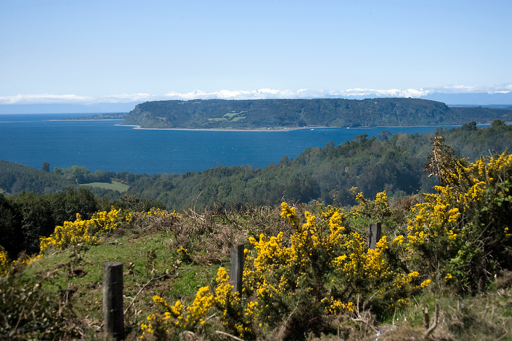 View from, Chiloe Island, Chile