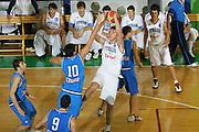 DESCRIZIONE : Bologna Coppa Italia 2006-07 Nazionale Italiana Under 18 Bianchi contro Blu <br /> GIOCATORE : Renzi <br /> SQUADRA : Nazionale Italiana Bianchi <br /> EVENTO : Campionato Lega A1 2006-2007 Tim Cup Final Eight Coppa Italia Camp Nazionale Italiana Under 18 <br /> GARA : Nazionale Italiana Under 18 Bianchi contro Blu <br /> DATA : 10/02/2007 <br /> CATEGORIA : Tiro <br /> SPORT : Pallacanestro <br /> AUTORE : Agenzia Ciamillo-Castoria/S.Silvestri <br /> Galleria : FIP Nazionale Italiana <br /> Fotonotizia : Bologna Coppa Italia 2006-2007 Nazionale Italiana Under 18 Bianchi contro Blu <br /> Predefinita : si