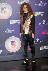 Jess Glynne. Red carpets arrivals at the MTV EMA's 2014 at The Hydro on November 9, 2014 in Glasgow, Scotland.