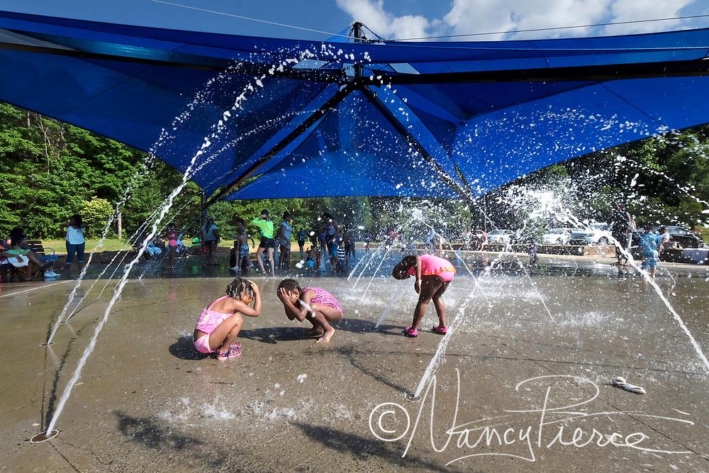 Nevin Park sprayground