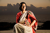 Portraits of Naina Kidwai - CEO of HSBC - India - 2007