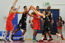- Photo mandatory by-line: Dougie Allward/JMP - Mobile: 07966 386802 - 13/03/2015 - SPORT - Basketball - Bristol - SGS Wise Campus - Bristol Flyers v Leicester Riders - British Basketball League
