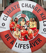"Oxfam 'lifeguards' call on the shipping industry 'be a life saver' by playing its part in tackling climate change and raising money to help poor countries cope with its devastating effects. ..Oxfam lifeguards ""Baywatch style' place a giant lifebelt over the anchor of the metal ship sculpture outside the International Maritime Organisation (IMO) building. Oxfam activists l demonstrate, brandishing placards shaped like lifebelts with the message: Climate Change Kills - Be a Life Saver.  They will also be handing out 'logbooks' to the delegates as they enter the building..Oxfam is calling for delegates to consider measures to reduce uncapped and rising shipping emissions, while at the same time raising more than $10bn per year in new climate cash through the auctioning of emission permits. .For further information please contact: Georgette Ginn, Oxfam, +44 (0)7824 503108 gginn@oxfam.org.uk"