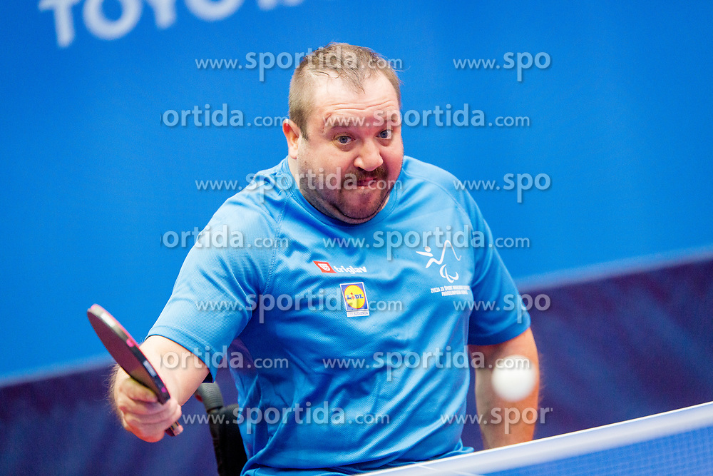 ZNIDAR Andrej during day 2 of 15th EPINT tournament - European Table Tennis Championships for the Disabled 2017, at Arena Tri Lilije, Lasko, Slovenia, on September 29, 2017. Photo by Ziga Zupan / Sportida