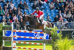 Kraut Laura, USA, Berdenn de Kergane<br /> CHIO Aachen 2019<br /> Weltfest des Pferdesports<br /> © Hippo Foto - Stefan Lafrentz<br /> Kraut Laura, USA, Berdenn de Kergane