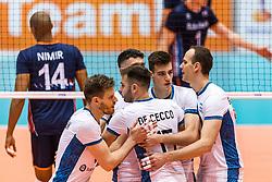 06-09-2018 NED: Netherlands - Argentina, Doetinchem<br /> First match of Gelderland Cup / Team Argentina celebrate