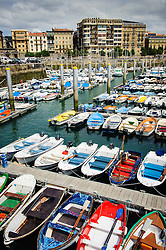Marina at San Sebastian, Cantabria, Spain<br /> <br /> (c) Andrew Wilson | Edinburgh Elite media