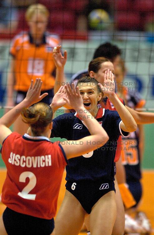 21-06-2000 JAP: OKT Volleybal 2000, Tokyo<br /> Nederland - Croatie 2-3 / Siscovich