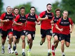 Bristol City players run in pre season training  - Photo mandatory by-line: Joe Meredith/JMP - Mobile: 07966 386802 - 01/07/2015 - SPORT - Football - Bristol - Failand Training Ground - Bristol City Pre-Season Training
