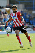 Lincoln City's Bruno Andrade during the EFL Sky Bet League 1 match between Wycombe Wanderers and Lincoln City at Adams Park, High Wycombe, England on 7 September 2019.