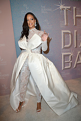 September 13, 2018 - New York, NY, USA - September 13, 2018  New York City..Rihanna attending the 4th Annual Clara Lionel Foundation Diamond Ball on September 13, 2018 in New York City. (Credit Image: © Kristin Callahan/Ace Pictures via ZUMA Press)