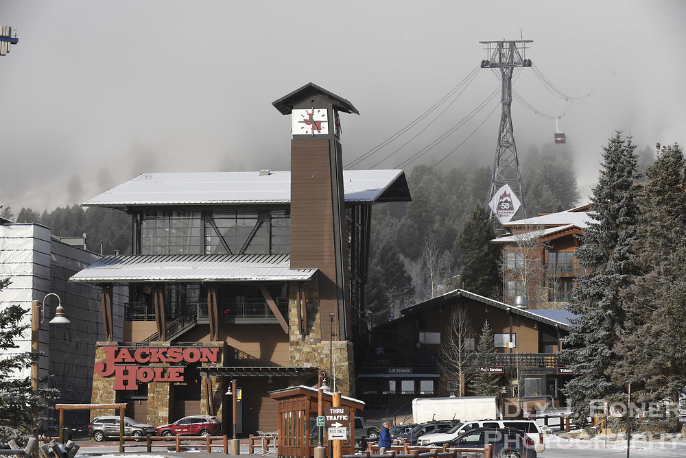 Aerial Tram Valley Station at Jackson Hole Mountain Resort