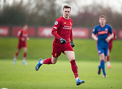LIVERPOOL, ENGLAND - Monday, February 24, 2020: Liverpool's Liam Millar during the Premier League Cup Group F match between Liverpool FC Under-23's and AFC Sunderland Under-23's at the Liverpool Academy. (Pic by David Rawcliffe/Propaganda)