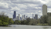 The Chicago Skyline on a Sunday in May
