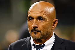 November 6, 2018 - Milan, Italy - Inter Milan head coach Luciano Spalletti looks on during the Group B match of the UEFA Champions League between FC Internazionale and FC Barcelona on November 6, 2018 at San Siro Stadium in Milan, Italy. (Credit Image: © Mike Kireev/NurPhoto via ZUMA Press)