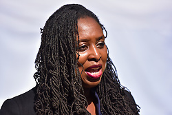© Licensed to London News Pictures. 04/09/2019. London, UK. Dawn Butler (Labour), Shadow Women & Equalities Secretary on College Green, Westminster Photo credit: Guilhem Baker/LNP