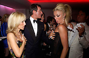 Princess Alexandra von Furstenburg, Tim Jefferies and  Tamara Beckwith.  Andy & Patti Wong's Chinese New Year party to celebrate the year of the Rooster held at the Great Eastern Hotel, Liverpool Street, London.29th January 2005. The theme was a night of hedonism in 1920's Shanghai. . ONE TIME USE ONLY - DO NOT ARCHIVE  © Copyright Photograph by Dafydd Jones 66 Stockwell Park Rd. London SW9 0DA Tel 020 7733 0108 www.dafjones.com