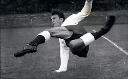Jul. 07, 1964 - Spurs prepare fro the coming season training at Chesthunt - Herts.: Photo shows Jimmy Greaves in action during the training spoll at Chestnut, Herts, today. (Credit Image: © Keystone Press Agency/Keystone USA via ZUMAPRESS.com)