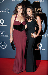 © Licensed to London News Pictures. 06/02/2012. London, UK. Slavica Ecclestone and daughter Tamara Ecclestone arriving on the red carpet for the Laureus World Sports Awards 2012. Dozens of sports and Hollywood celebrities arrived in the English capital to attend the event held at the Queen Elizabeth II Conference Centre in the same year that London will host the Olympic Games. Photo credit : Ben Cawthra/LNP