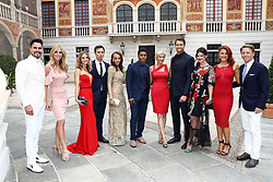 June 19, 2017 - Monaco, Monaco - 57th Monte-Carlo Television Festival cocktail at the Palace of Monaco. Don Diamont, Cindy Ambuehl, Kelly Kruger, Darin Brooks, Reign Edwards, Rome Flynn, Katherine Kelly Lang, Pierson Fode, Heather Tom, Courtney Hope, Bradley Bell. (Credit Image: © Visual via ZUMA Press)