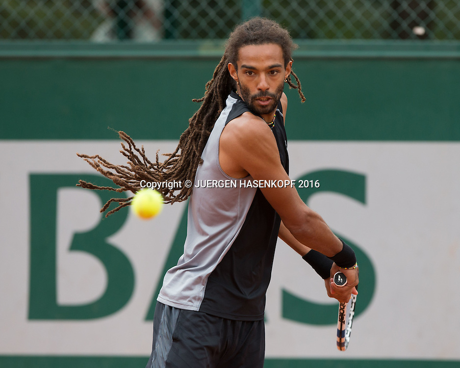 Dustin Brown (GER)<br /> <br /> Tennis - French Open 2016 - Grand Slam ATP / WTA -  Roland Garros - Paris -  - France  - 23 May 2016.